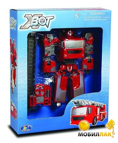 X-bot Робот-трансформер Пожарная машина (80040R) X-bot
