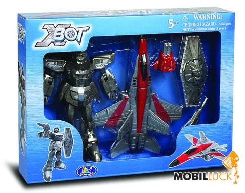 X-bot Робот-трансформер Самолет Воин (82020R) MobilLuck.com.ua 138.000