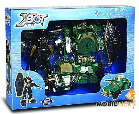 X-bot Робот-трансформер Танк Воин (82010R) X-bot