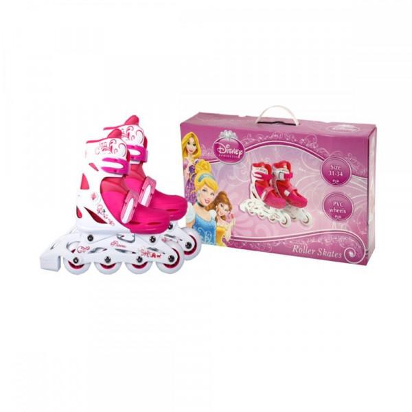 Disney Princess Ролики  c пластиковой рамой 30-33 р. (RS0115) Disney Princess