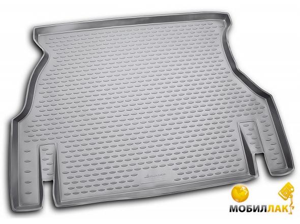 Автомобильный коврик в багажник с бортиком Новлайн (Novline) для Daewoo Nexia ( Дэу Нексия.