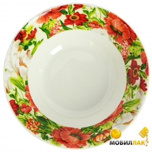 Оселя Красные Цветы OU24-198-012 17,5 см MobilLuck.com.ua 39.000