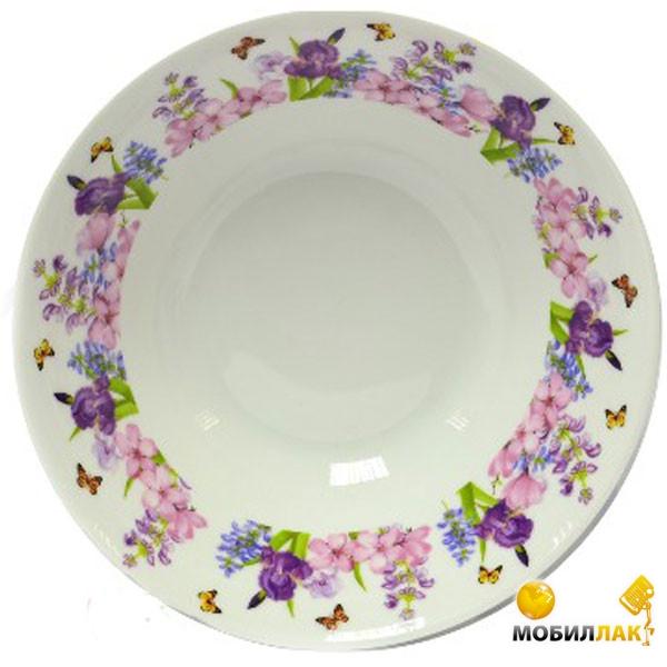 Оселя Пурпурные цветы OU24-198-011 17,6 см MobilLuck.com.ua 57.000