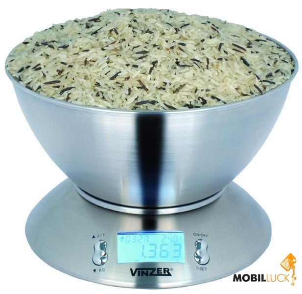 Кухонные весы Vinzer 69189 Бахмач самая дешевая бытовая техника