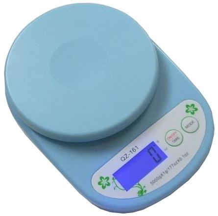 Весы кухонные Lux QZ 161 Blue