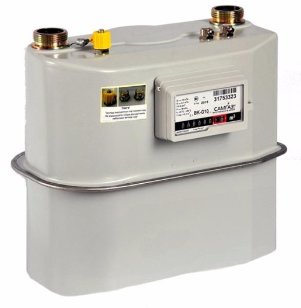 Счетчики газа бытовые G10