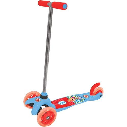Скутер Kiddieland Фиксики 3-х колесный Красный (Т58463)
