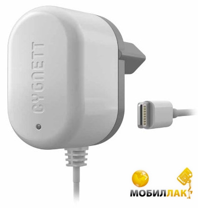 Cygnett Wall Charger 1A Lightning Fixed cable (FlashPower) White сертификат MFI Apple MobilLuck.com.ua 276.000