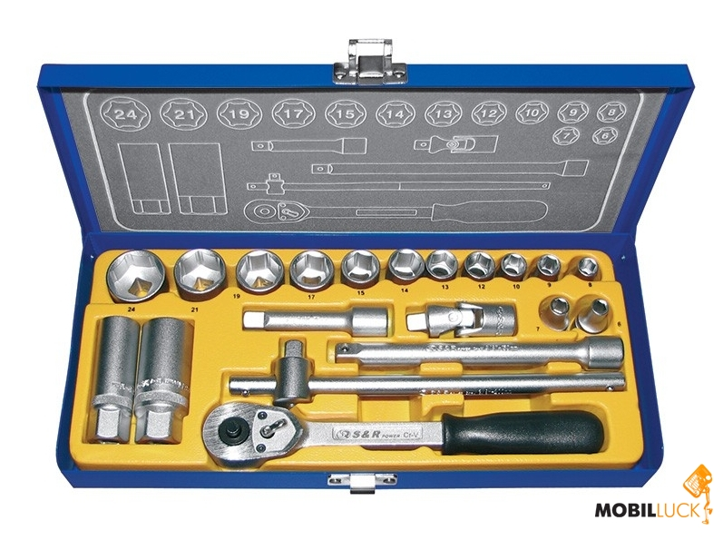 "S&R 3/8"" 20 предметов (460323020) MobilLuck.com.ua 731.000"