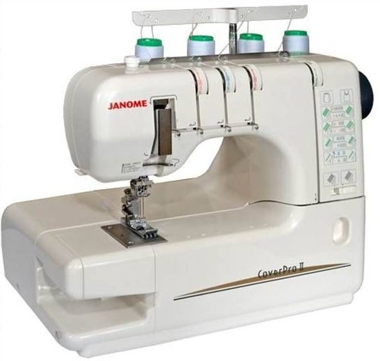 Швейная машина Janome CoverPro II