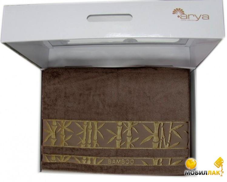 Arya в сумке З Бамбук Жаккард 200X220 Elanor темно-коричневый (7000002306165) MobilLuck.com.ua 683.000