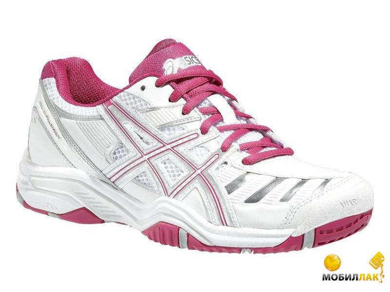 Кроссовки для тенниса женские Asics Gel-challenger 9 (39UA 9US 25.7см) White/Fuchsia/Silver