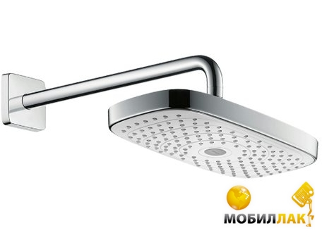 Hansgrohe Raindance Select E белый хром 27385400 Hansgrohe