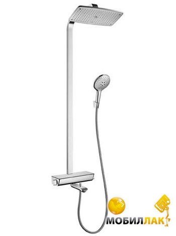 Hansgrohe Raindance Select S 360 Showerpipe с полочкой 27113400 Hansgrohe