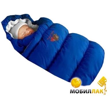 Ontario Baby Inflated-A фланель (дутик 50х90) серо-синий (Кон-т Inflated-A сер.син) MobilLuck.com.ua 404.000