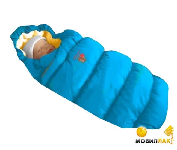 Ontario Baby Inflated (дутик 50х90) светло-голубой (Кон-т Inflated св.-гол.) MobilLuck.com.ua 494.000