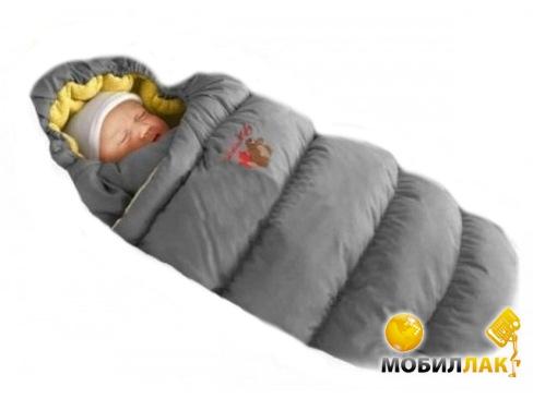 Ontario Baby Inflated (дутик 50х90) темно-серый (Кон-т Inflated т-сер) MobilLuck.com.ua 494.000
