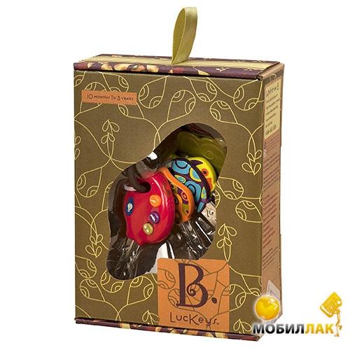 Battat Развивающая игрушка Battat Супер ключики (свет, звук, томатный) Battat