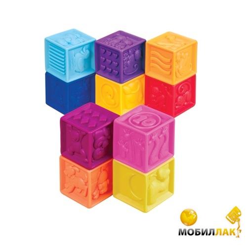Battat Развивающие силиконовые кубики Посчитай-ка! (BX1002Z) Battat