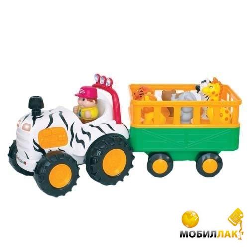 Kiddieland Игровой набор - Трактор Сафари (51169) Kiddieland