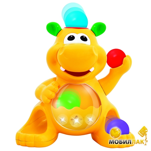 Kiddieland Развивающая игрушка Гиппопотам-жонглер (049890) Kiddieland