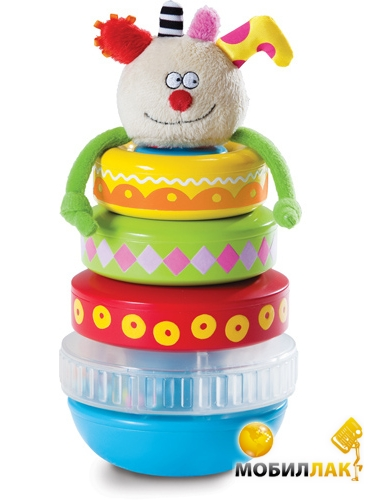 Taf Toys Развивающая игрушка Пирамидка Куки (11365) Taf Toys