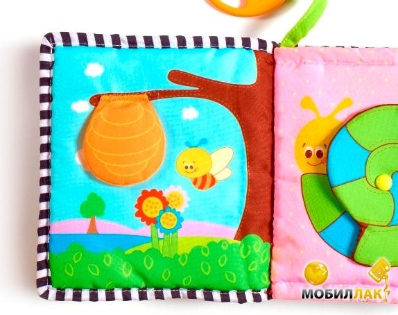 Мягкие развивающие книги для детей