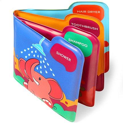 BabyOno Мягкая книжка-пищалка  Bath Time (888) BabyOno