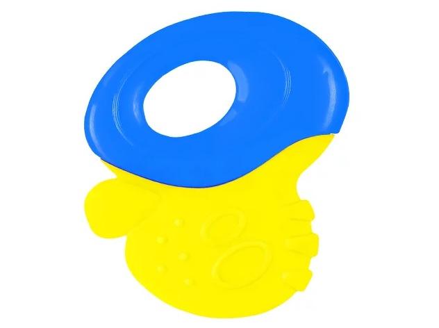BabyOno Первые зубки Желтый/Синий (1383) BabyOno
