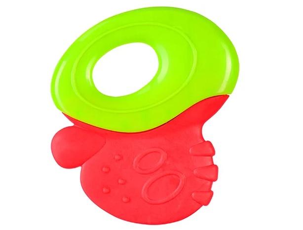BabyOno Первые зубки Красный/Зеленый (1383) BabyOno