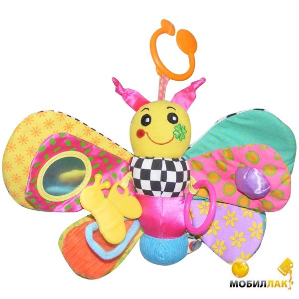 Biba Toys Активная игрушка-подвеска Забавная бабочка (024GD) Biba Toys