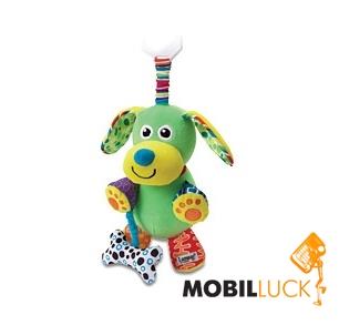 Lamaze Развивающая игрушка Щенок с косточкой (LC27023) Lamaze