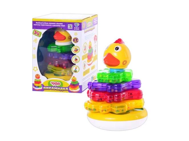 Limo Toy Логическая пирамидка (7015-7040) Limo Toy
