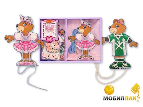 Melissa&Doug Шнуровка Одень медведя (MD3776) MobilLuck.com.ua 194.000