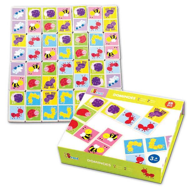 Viga Toys Домино.Насекомые (50127VG) Viga Toys
