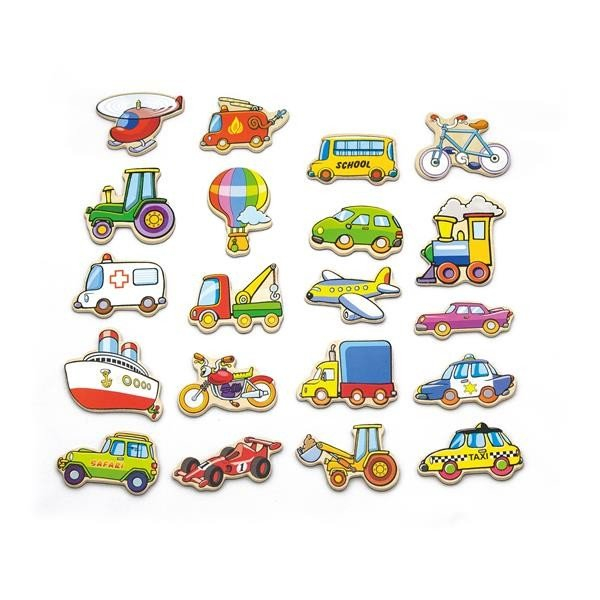 Viga Toys Транспорт 20 шт. (58924VG) Viga Toys