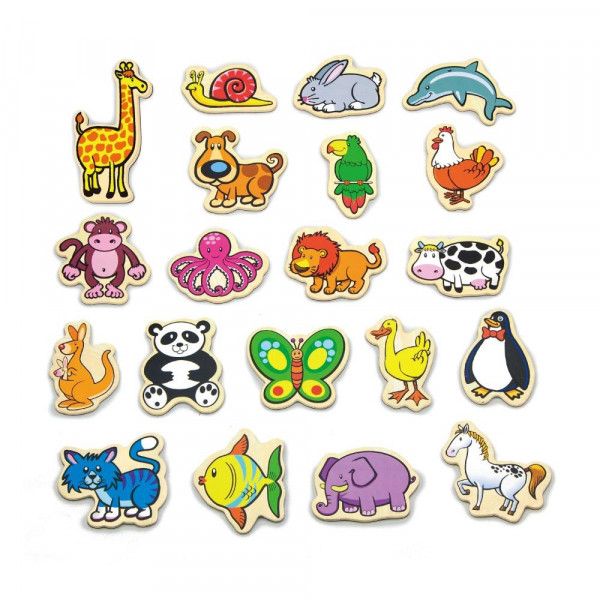 Viga Toys В мире животных 20 шт. (58923VG) Viga Toys