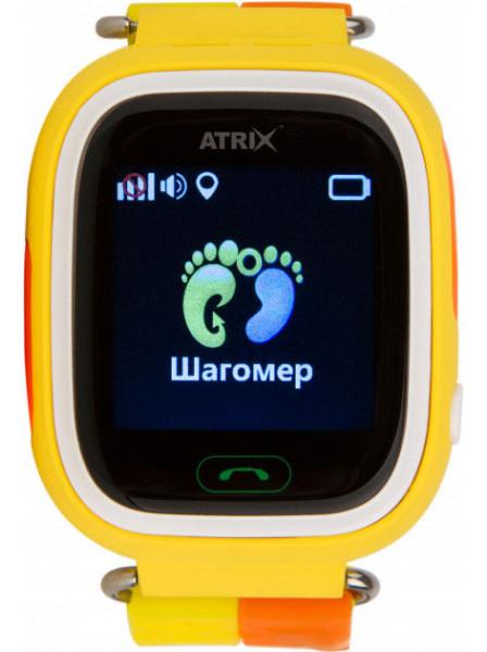 Смарт-часы Atrix Smart watch iQ400 Touch GPS Yellow. Купить Смарт-часы  Atrix Smart watch iQ400 Touch GPS Yellow. Цена 49a0642d88889