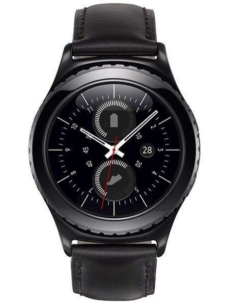 Умные часы Samsung SM-R7320ZKASEK Gear S2 Classic Black