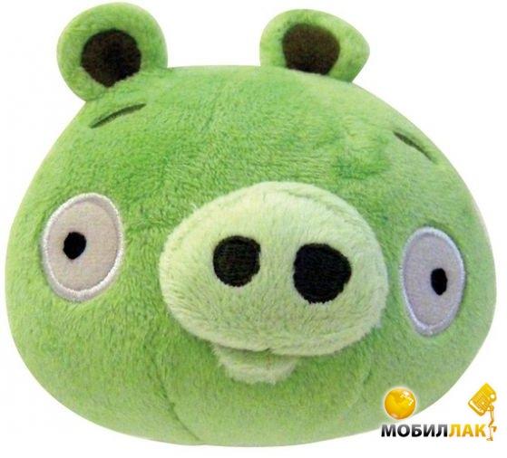 Angry Birds Игрушка мягкая озвученная Свинка 20 см (90960) Angry Birds