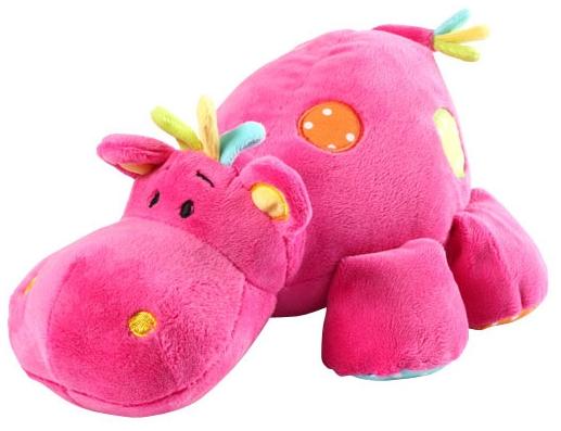 BabyOno Бегемотик Зигги Розовый 28 см (994) BabyOno