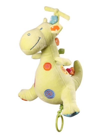 BabyOno Динозавр 30 см Бежевая (1120) BabyOno