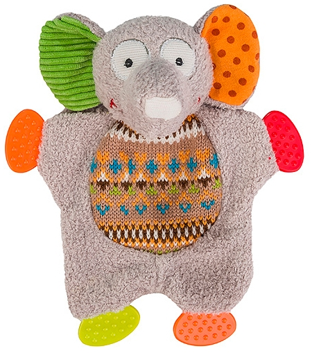 BabyOno Забавный слоненок 19 см (1241) BabyOno