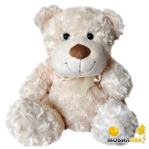 Grand Медведь белый с бантом 33 см (3301GMC) Grand