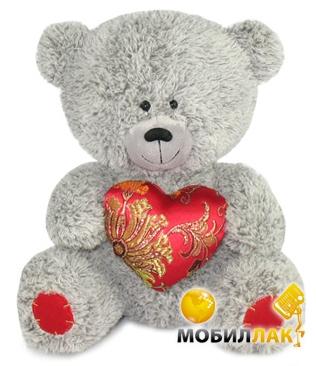 Lava Медвежонок с парчовым сердцем 21см (LA8383W) Lava