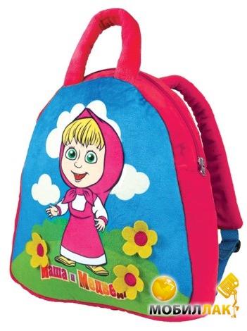131 грн.  Интернет магазин: Mobilluck.com.ua (Украина).  Мульти-Пульти Детский рюкзак Маша и медведь 30 см...