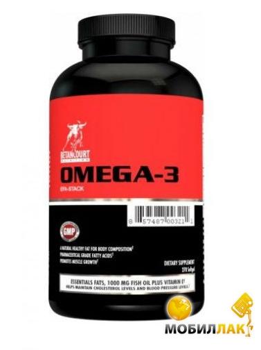 betancourt nutrition Betancourt nutrition Omega-3, 270 Softgels (SP0039)