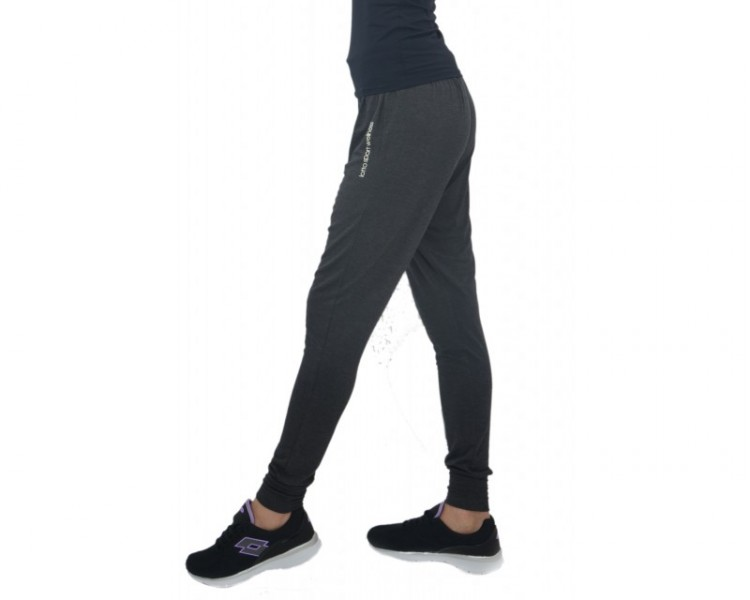 0ccfbaed Видеообзор и фото Спортивные штаны женские Lotto Odette R6904 р.L (46UA)  Melange Black Pitch. Купить Спортивные штаны женские Lotto Odette R6904 р.