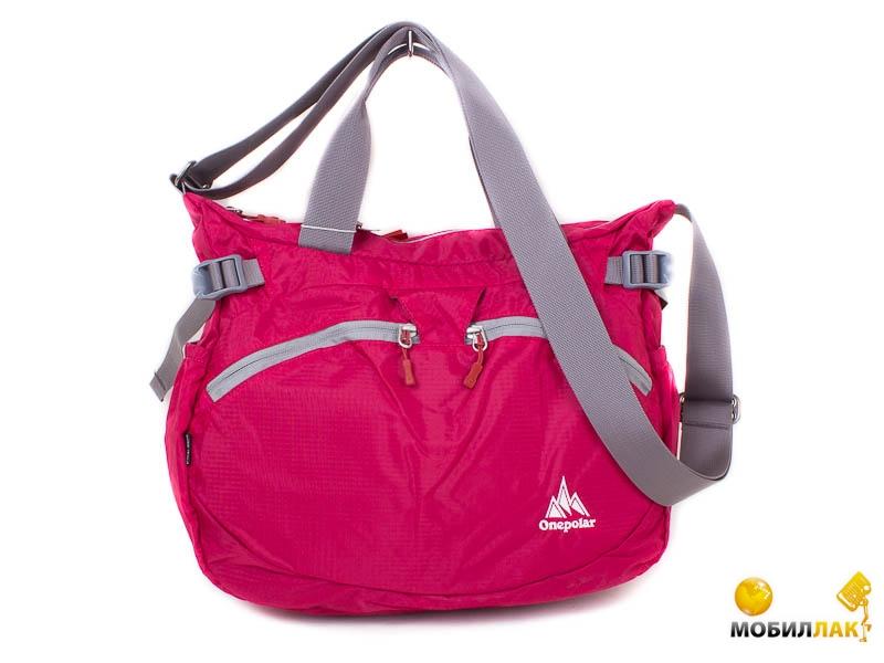 346a16b8ddc0 Женская спортивная сумка Onepolar W5220-pink. Купить Женская ...