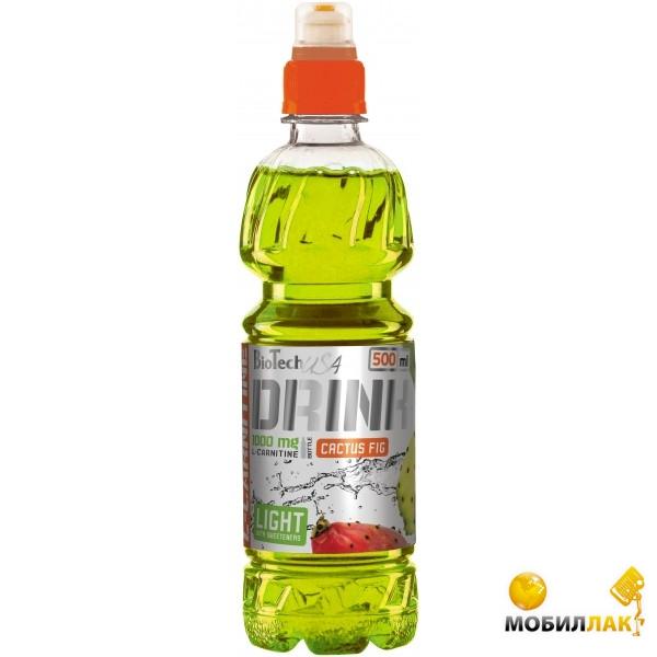 biotech BioTech 1000 mg L-Carnitine Drink (500 мл) Cactus Fig
